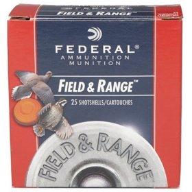 FEDERAL FEDERAL FIELD AND RANGE 20 GA #7.5 7/8 OZ 2 1/2 DRM 25 SHELLS
