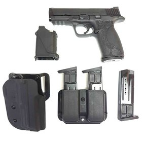 USED SMITH & WESSON M&P 9MM RANGE KIT