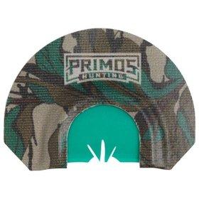 PRIMOS PRIMOS MOSSY OAK GREENLEAF MOUTH YELPER W/ TURKEY TRACK CUT