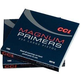 CCI CCI MAGNUM LARGE PISTOL PRIMERS NO. 350 100 PRIMERS