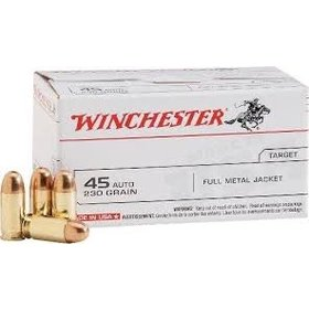 WINCHESTER WINCHESTER 45 ACP 230GR FMJ 100 RDS
