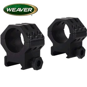WEAVER WEAVER TACTICAL RINGS SIX HOLE HIGH MATTE