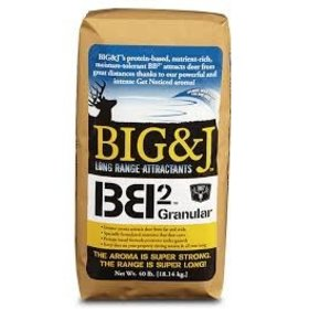 BIG & J BIG & J BB2 GRANULAR DEER FEED 20# BAG