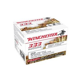WINCHESTER WINCHESTER 333 PACK 22LR 36GR HP 333 RDS