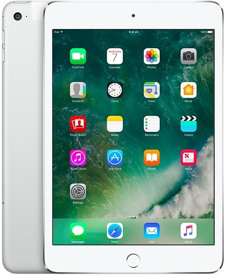 Apple iPad Mini 4 Wifi+Cellular, 128GB, Silver