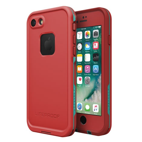 LifeProof Fre iPhone 7 Case - Ember Red
