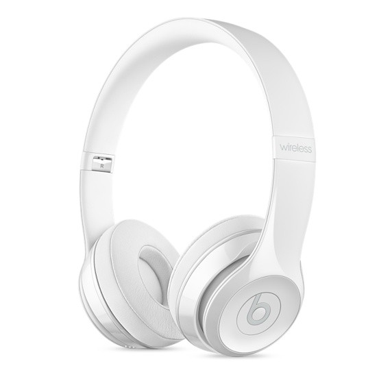 Apple BEATS SOLO3 WIRELESS - GLOSS WHITE