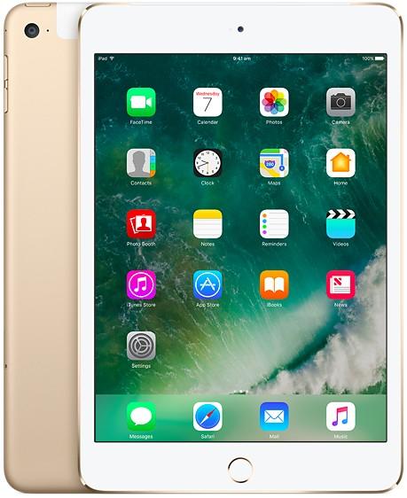Apple iPad Mini 4 Wifi 128GB - Gold