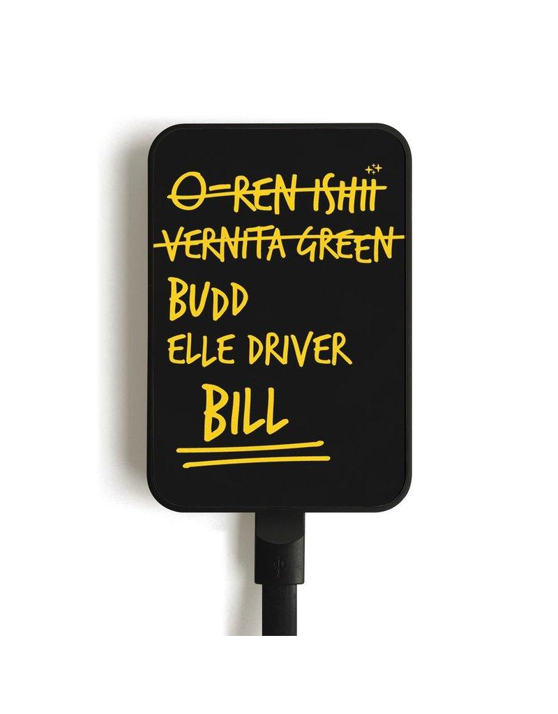 MC2 MC5 Card Mobile Charger, 5000mAh - Bill B