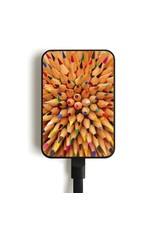 MC2 MC5 Card Mobile Charger, 5000mAh - Pencils