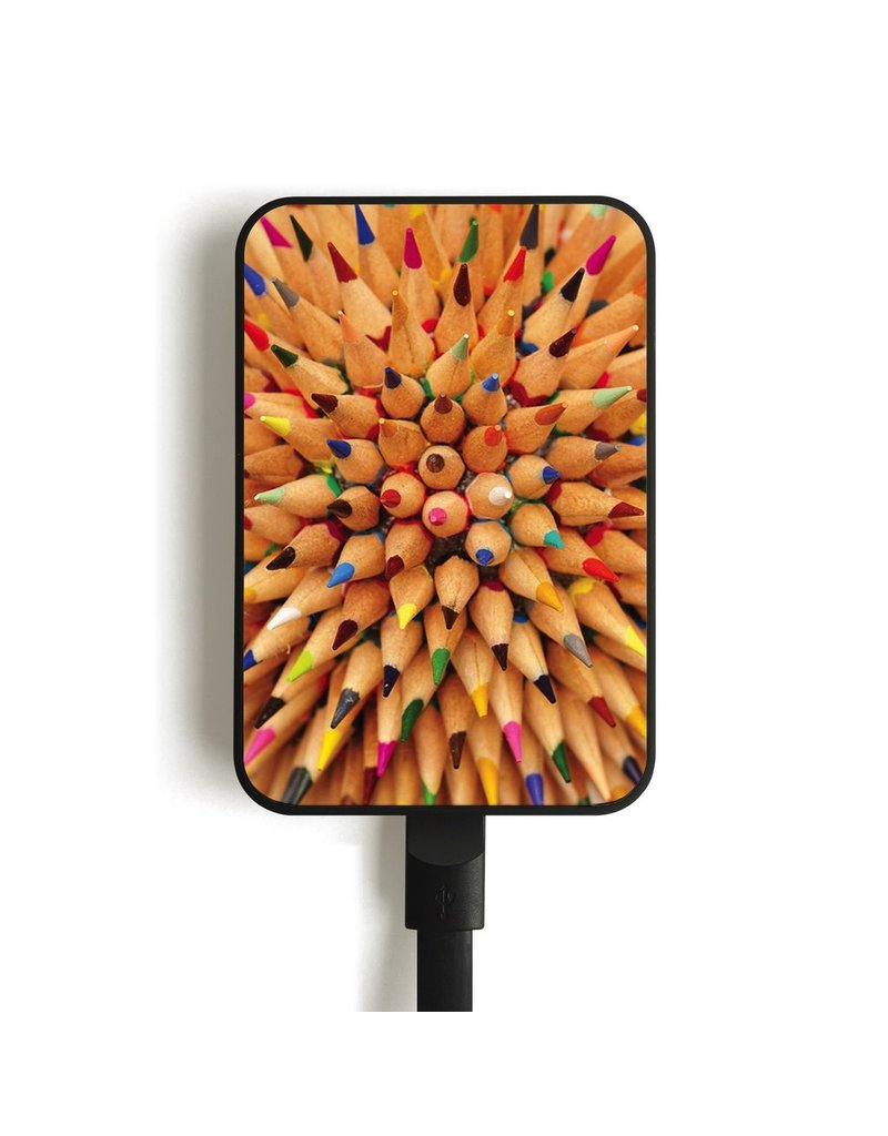 MC2 MC5 Card Mobile Charger, 5000mAh - Pencils