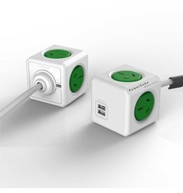Powercube Extended USB - Green