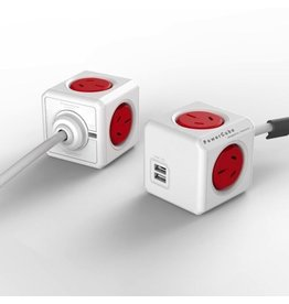Powercube Extended USB - Red