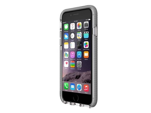 Tech21 EVO Mesh Case, iPhone 6/6S, Clear/Grey