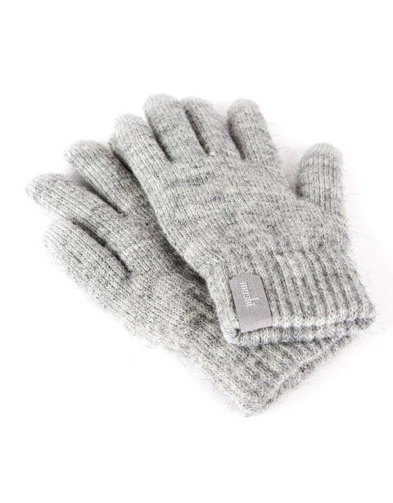Moshi Moshi  Digits - Touch Screen Gloves  Light Grey / Small/Medium