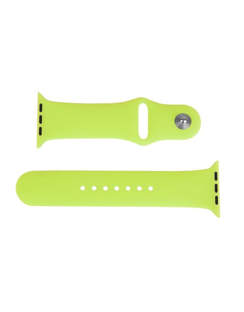 LaserCo Apple Watch Band 42mm Silicone Sports in GREEN