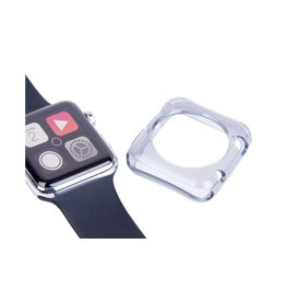 LaserCo Apple Watch Protector Pack 38mm,Case + Glass Protector