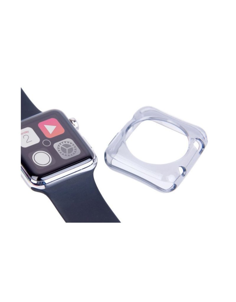 LaserCo Apple Watch Protector Pack 42mm, Case + Glass Protector