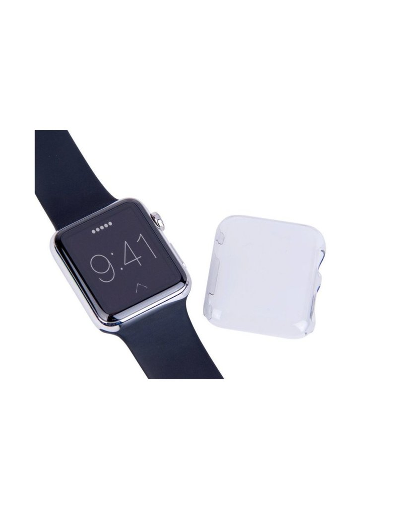 LaserCo Apple Watch Plastic Cover 42mm 2 Pack