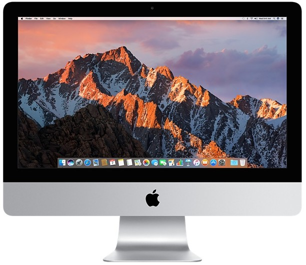 Apple iMac 21.5 inch 1.6GHz 1TB