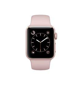 Apple Watch series 2, 38MM, Rose Gold Aluminium, Pink Sand Sport Band