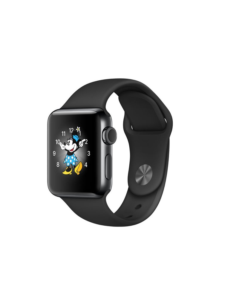 Apple Watch series 2, 38MM, Space Black Stainless Steel, Space Black Sport Band