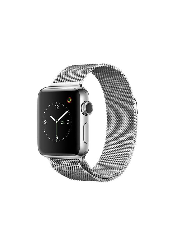 Apple Watch series 2, 38MM, Stainless Steel, Silver Milanese Loop