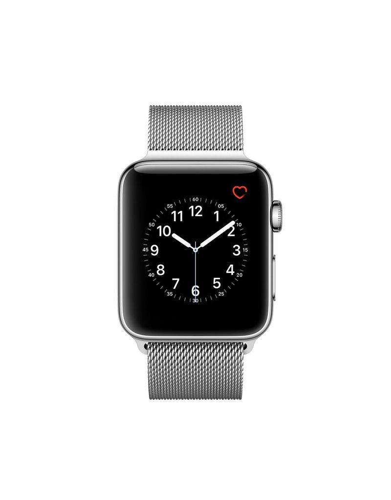 Apple Watch series 2, 42MM, Stainless Steel, Silver Milanese loop