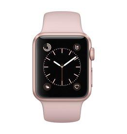 Apple Watch series 1, 38MM, Rose Gold Aluminium, Pink Sand Sport Band