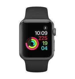 Apple Watch series 1, 38MM, Space Grey Aluminium, Black Sport Band