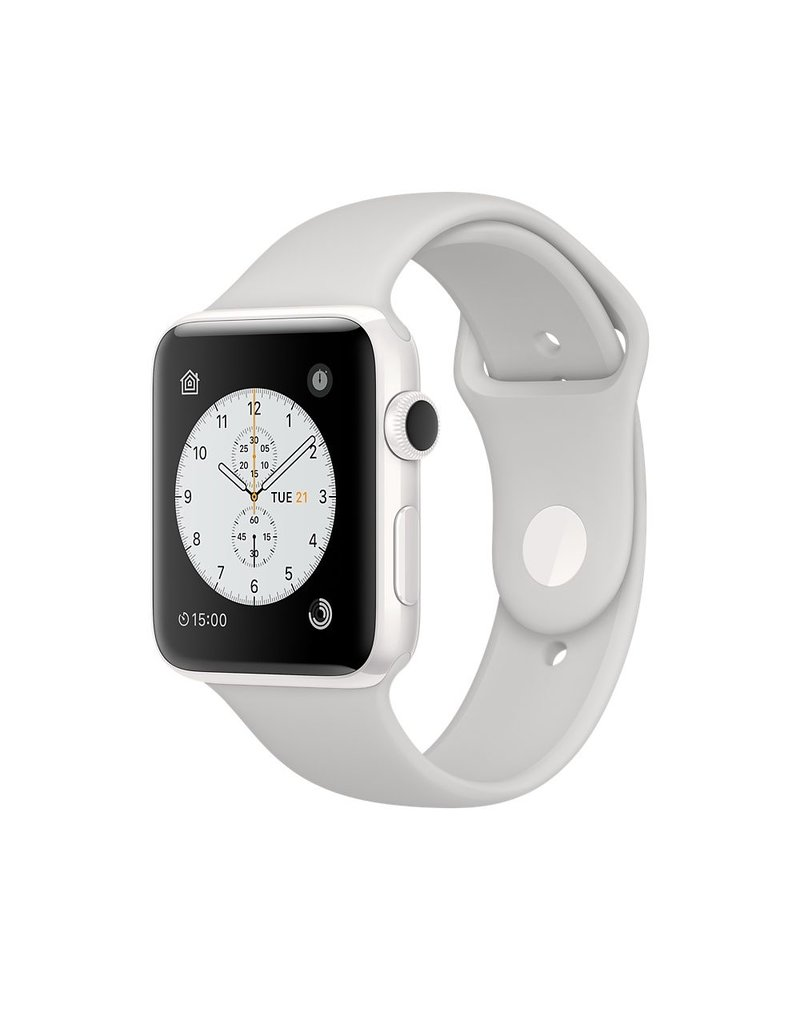 Apple Watch Edition, 42MM, White Ceramic Cloud Sport Band