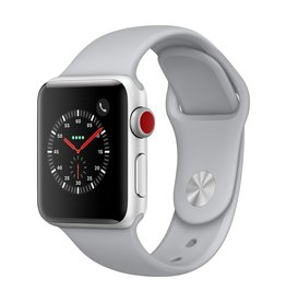 Apple Watch series 3 - 38MM - Silver Aluminium - Fog Sport Band