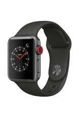 Apple Watch series 3 - 38MM - Space Grey Aluminium - Grey Sport Band