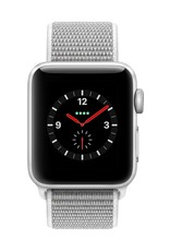 Apple Watch series 3 - 38MM - Silver Aluminium - Seashell Sport Loop