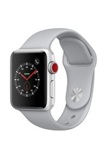 Apple Watch series 3 - 42MM - Silver Aluminium Case - Fog Sports Band