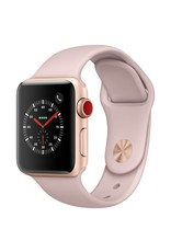 Apple Watch series 3 - 42MM - Gold Grey Aluminium Case - Pink Sand Sports Band