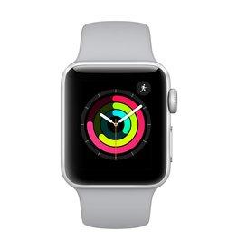 Apple Watch series 3 - 38MM - Silver Aluminium - Fog Sport Band