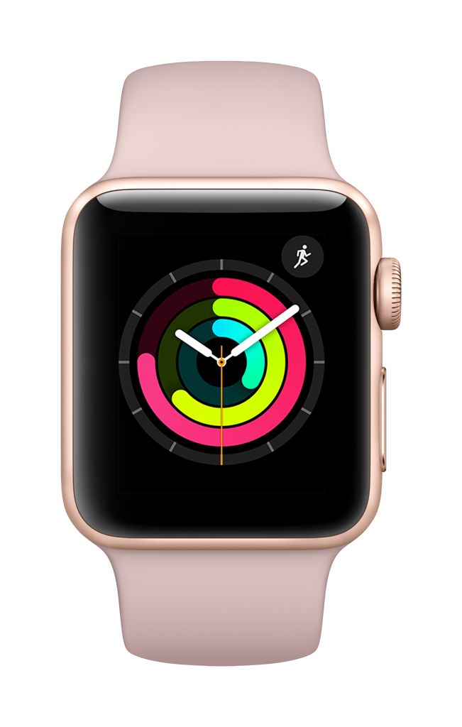 Apple Watch series 3 - 38MM - Gold Aluminium - Pink Sand Sport Band