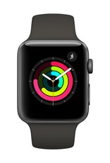 Apple Watch series 3 - 42MM - Space Grey Aluminium - Grey Sport Band