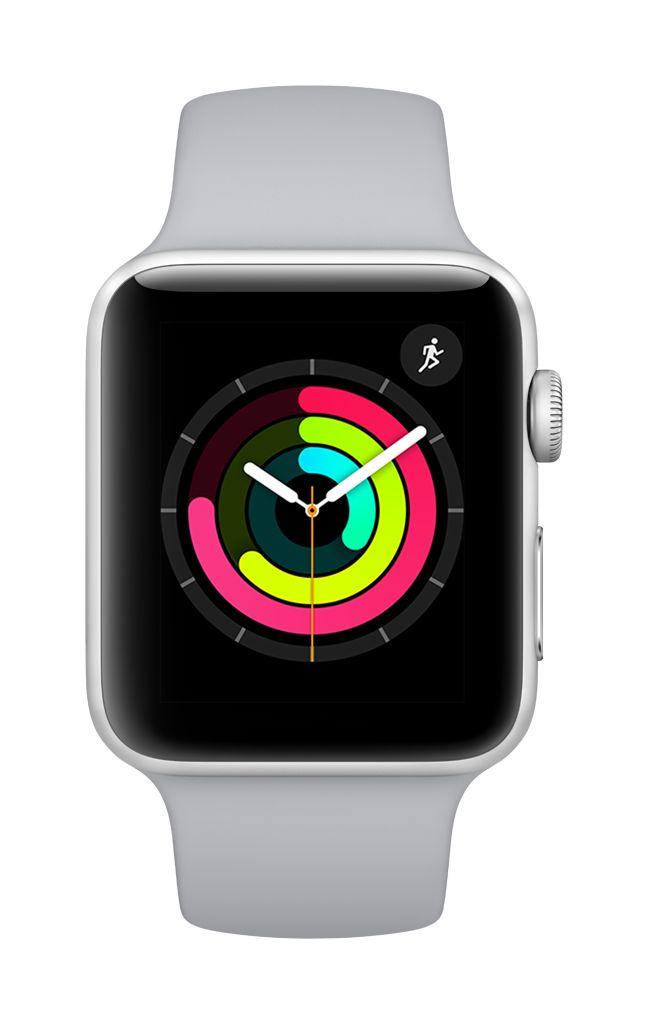 Apple Watch series 3 - 42MM - Silver Aluminium - Fog Sport Band