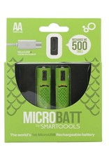 Microbatt Rechargable Micro AA Batteries