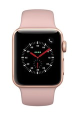 Apple Watch series 3 - 38MM - Gold Aluminium - Pink Sand Sport Band