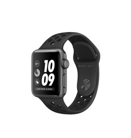 Apple Watch Nike+ GPS - 38MM - Space Grey Aluminium Case with Anthracite/Black Nike Sport Band