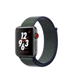 Apple Watch Nike+ GPS + Cellular - 42MM - Space Grey Aluminium Case with Midnight Fog Nike Sport Loop