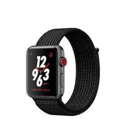Apple Watch Nike+ GPS + Cellular - 42MM - Space Grey Aluminium Case with Black/Pure Platinum Nike Sport Loop