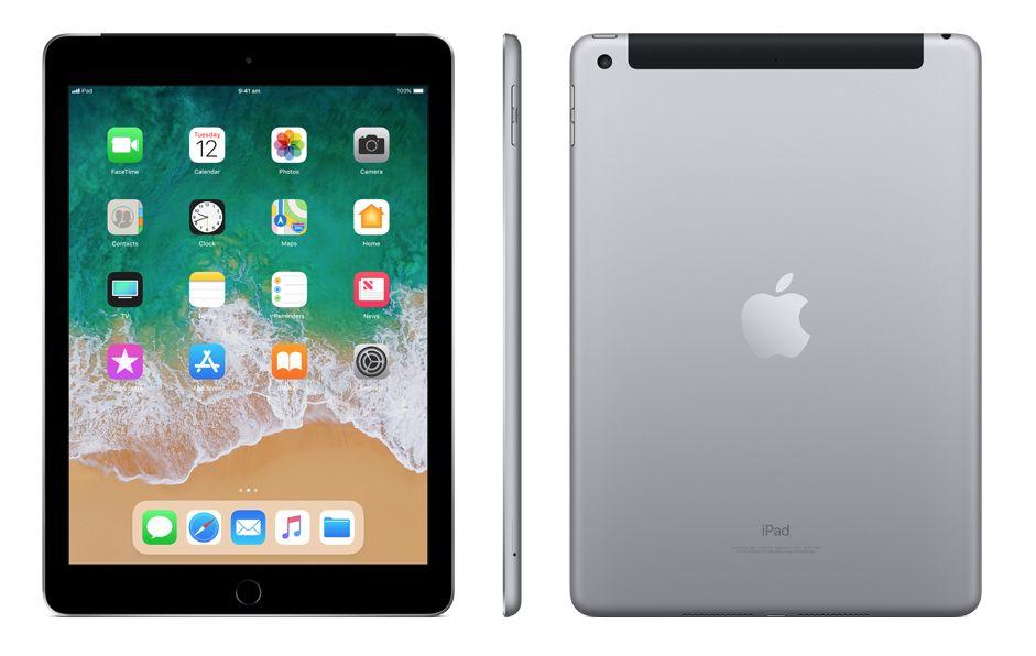 Apple iPad Wifi+Cell, 128GB, Space Grey