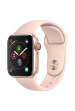 Apple Watch series 4 GPS, 44MM, Gold Aluminium Case, Pink Sand Sport Band