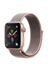 Apple Watch series 4 GPS, 44MM, Gold Aluminium Case, Pink Sand Sport Loop