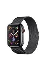 Apple Watch series 4 GPS, Cellular, 40MM, Space Black Stainless Steel Case, Space Black Milanese Loop