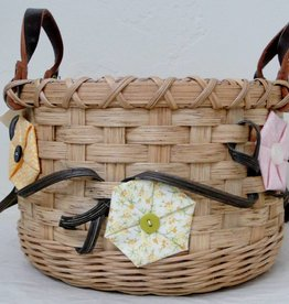 Woven Designs Basket full of Posies--Pattern